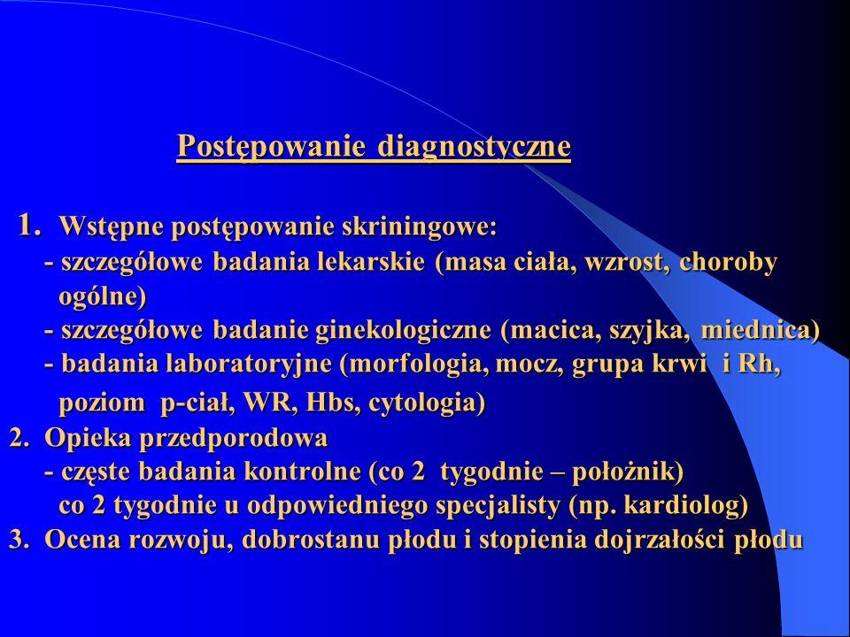 Postępowanie diagnostyczne 1