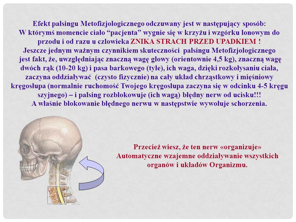 A właśnie blokowanie błędnego nerwu w następstwie wywołuje schorzenia.