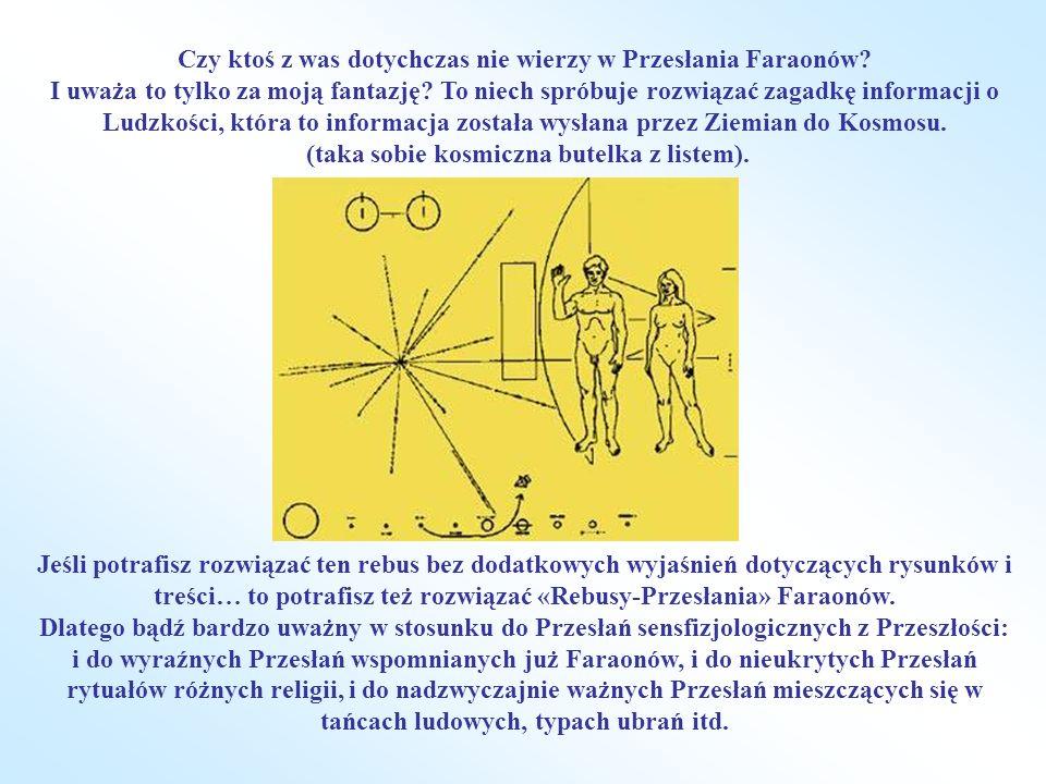 Czy ktoś z was dotychczas nie wierzy w Przesłania Faraonów