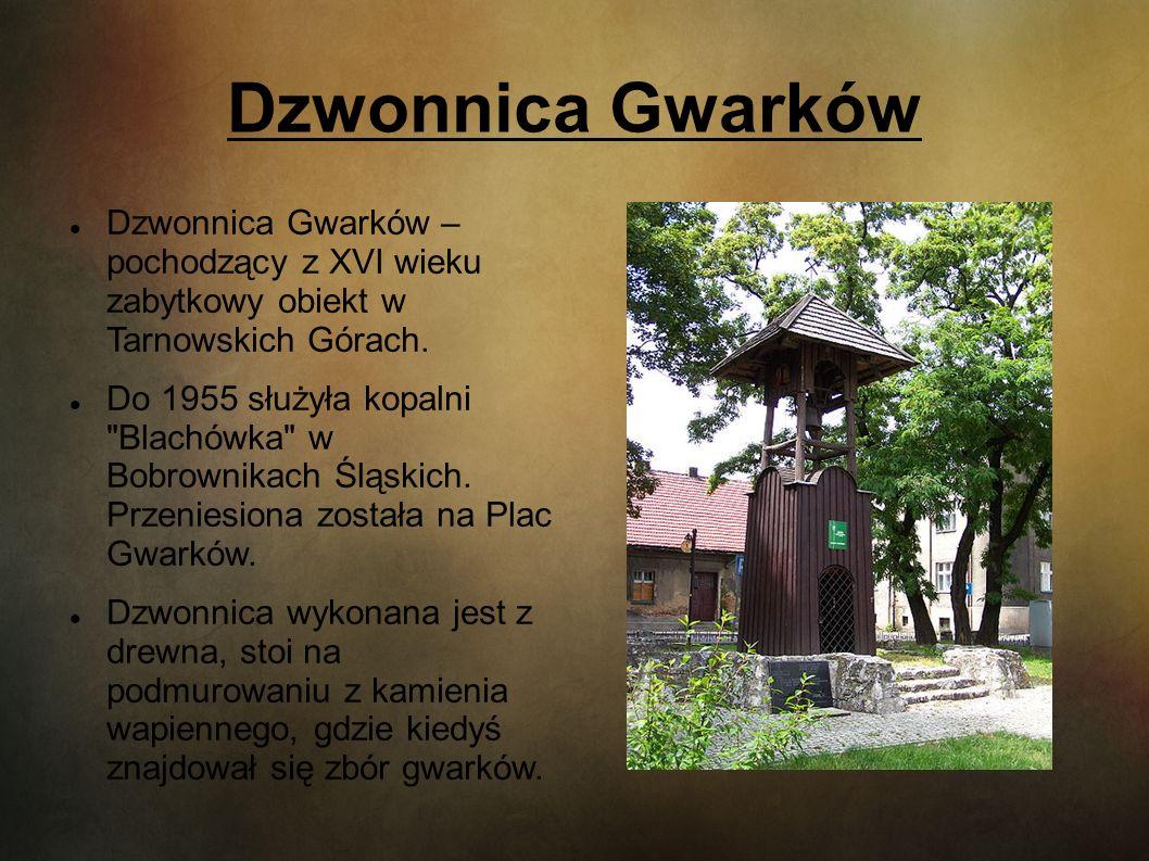Dzwonnica Gwarków Dzwonnica Gwarków – pochodzący z XVI wieku zabytkowy obiekt w Tarnowskich Górach.