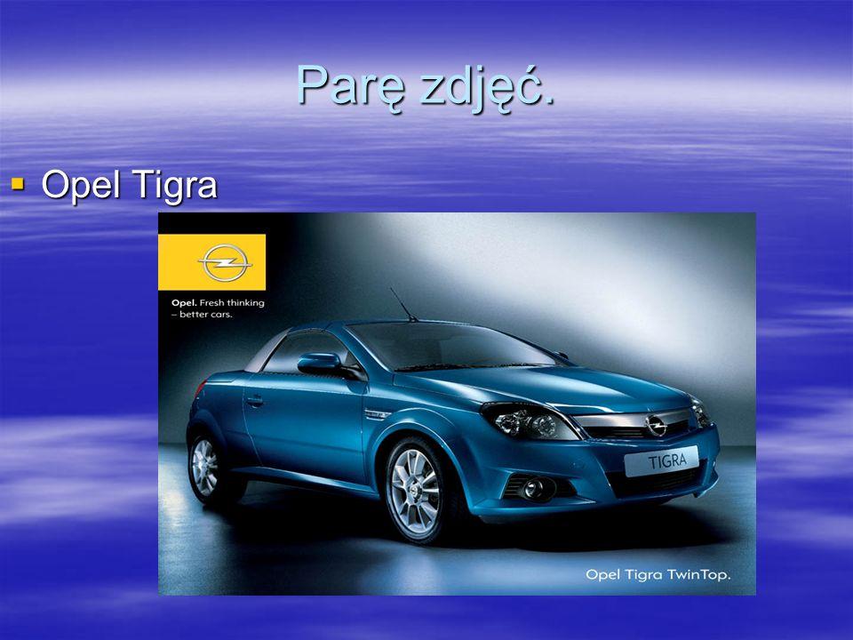 Parę zdjęć. Opel Tigra