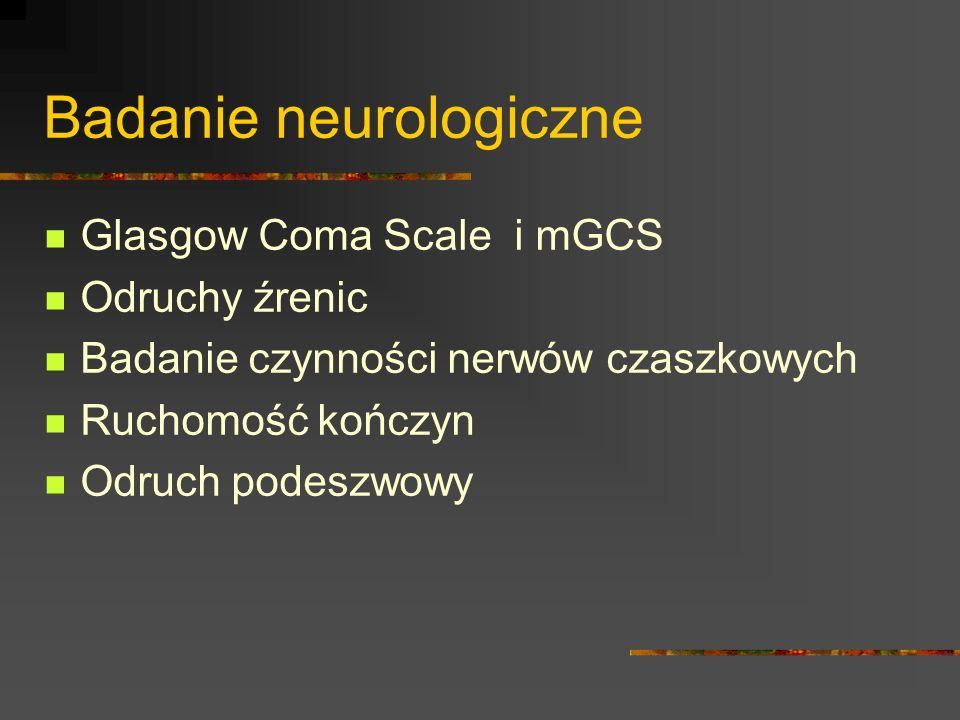 Badanie neurologiczne