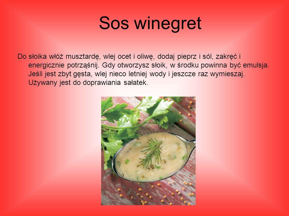 Sos winegret