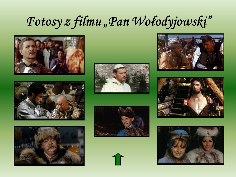"""Fotosy z filmu """"Pan Wołodyjowski"""