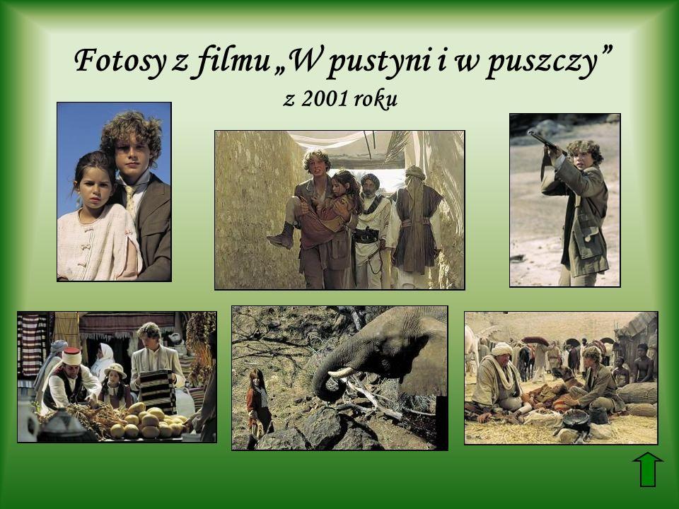 """Fotosy z filmu """"W pustyni i w puszczy z 2001 roku"""