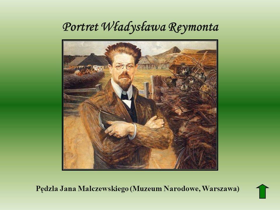 Portret Władysława Reymonta