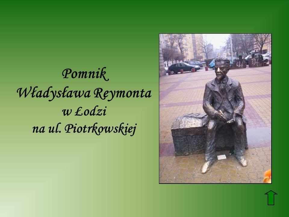 Władysława Reymonta w Łodzi