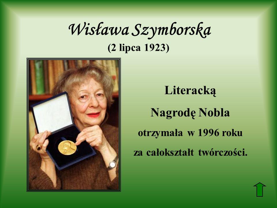 Wisława Szymborska (2 lipca 1923)
