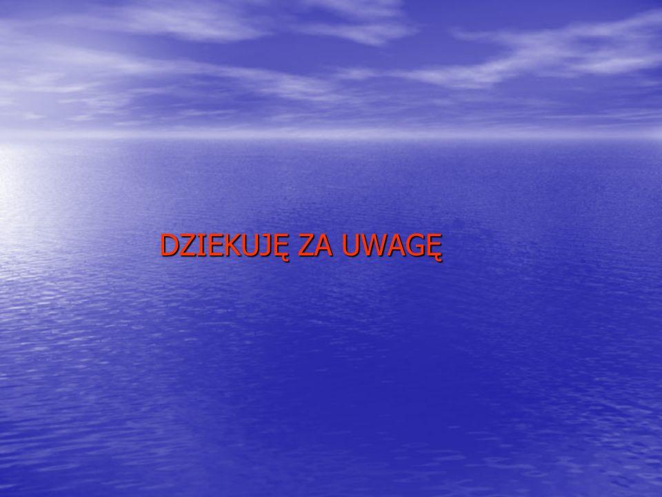 DZIEKUJĘ ZA UWAGĘ