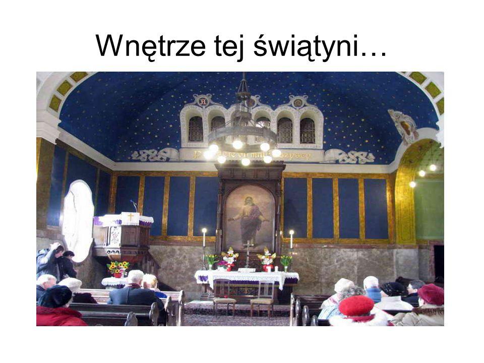 Wnętrze tej świątyni…