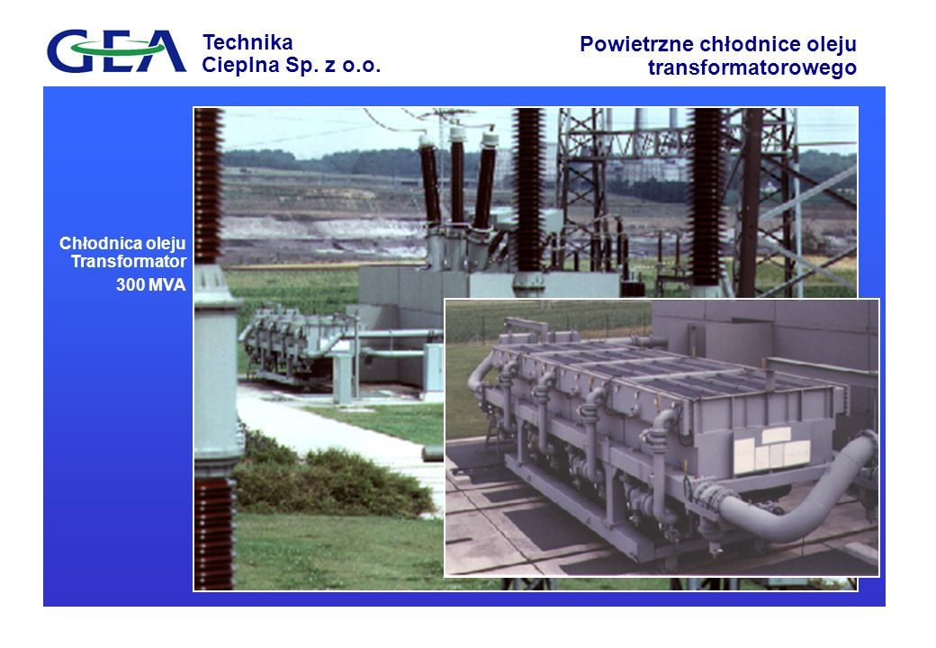 Chłodnica oleju Transformator