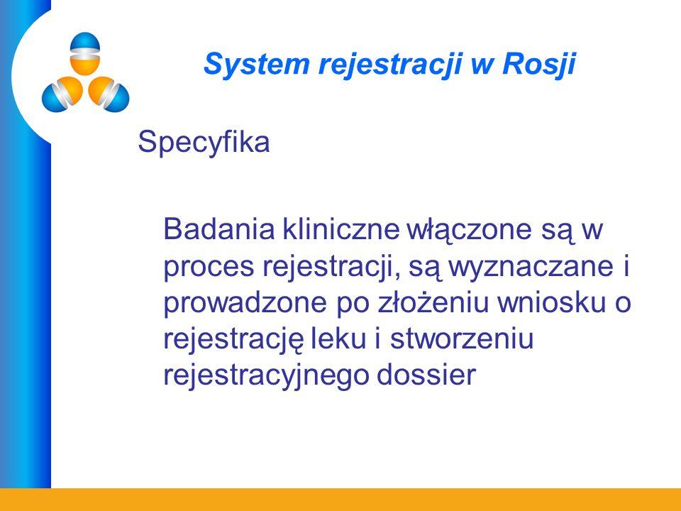 System rejestracji w Rosji