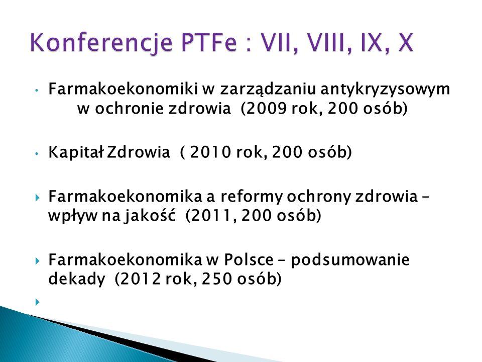 Konferencje PTFe : VII, VIII, IX, X