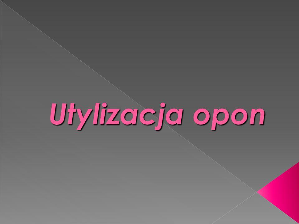 Utylizacja opon