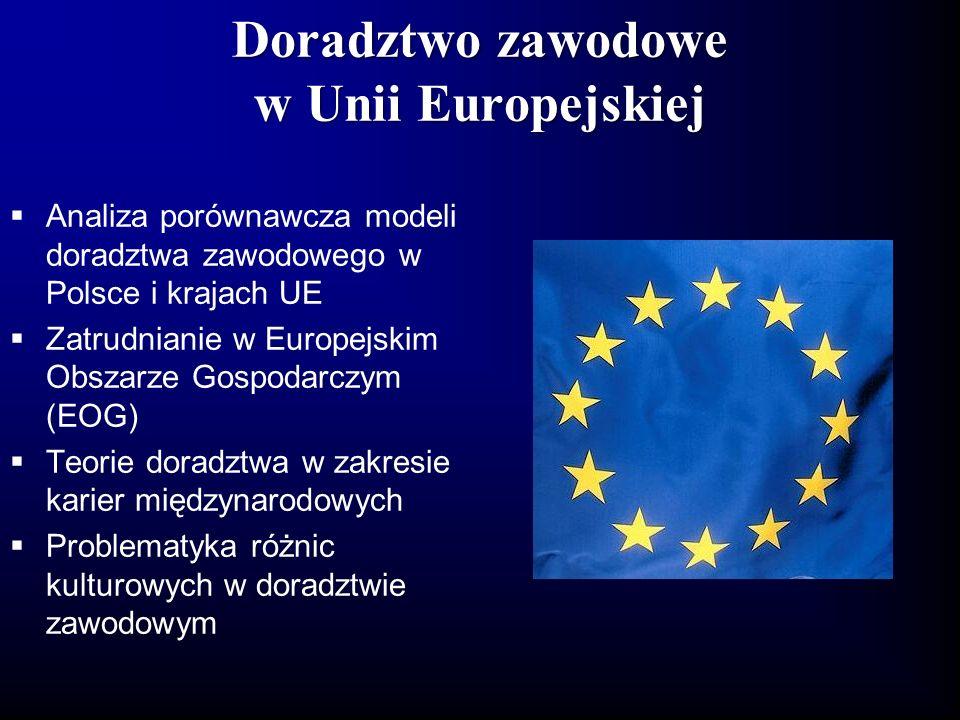 Doradztwo zawodowe w Unii Europejskiej