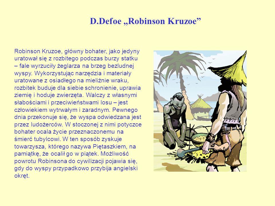 "D.Defoe ""Robinson Kruzoe"