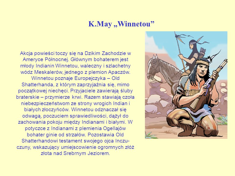 "K.May ""Winnetou"
