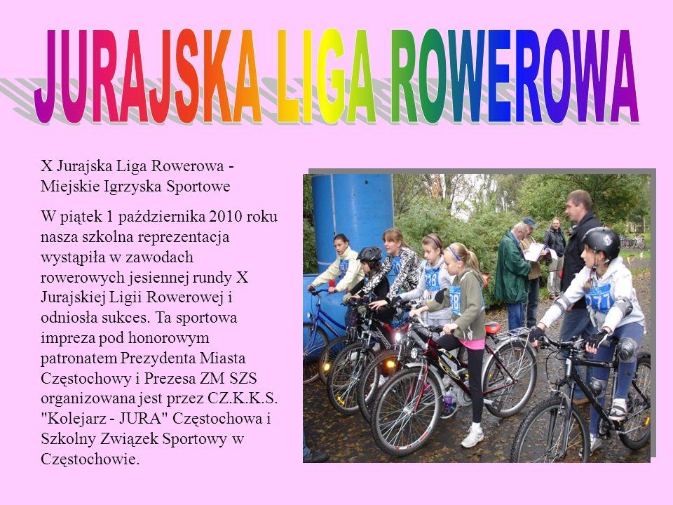 JURAJSKA LIGA ROWEROWA