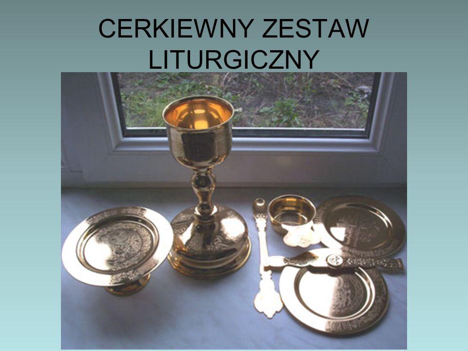 CERKIEWNY ZESTAW LITURGICZNY