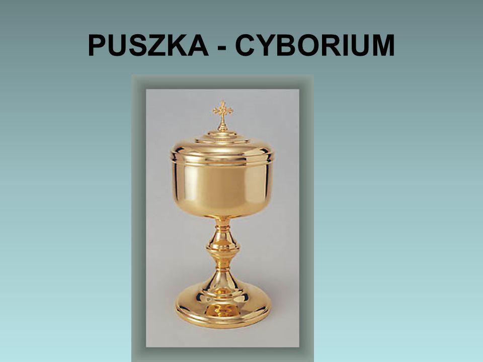 PUSZKA - CYBORIUM