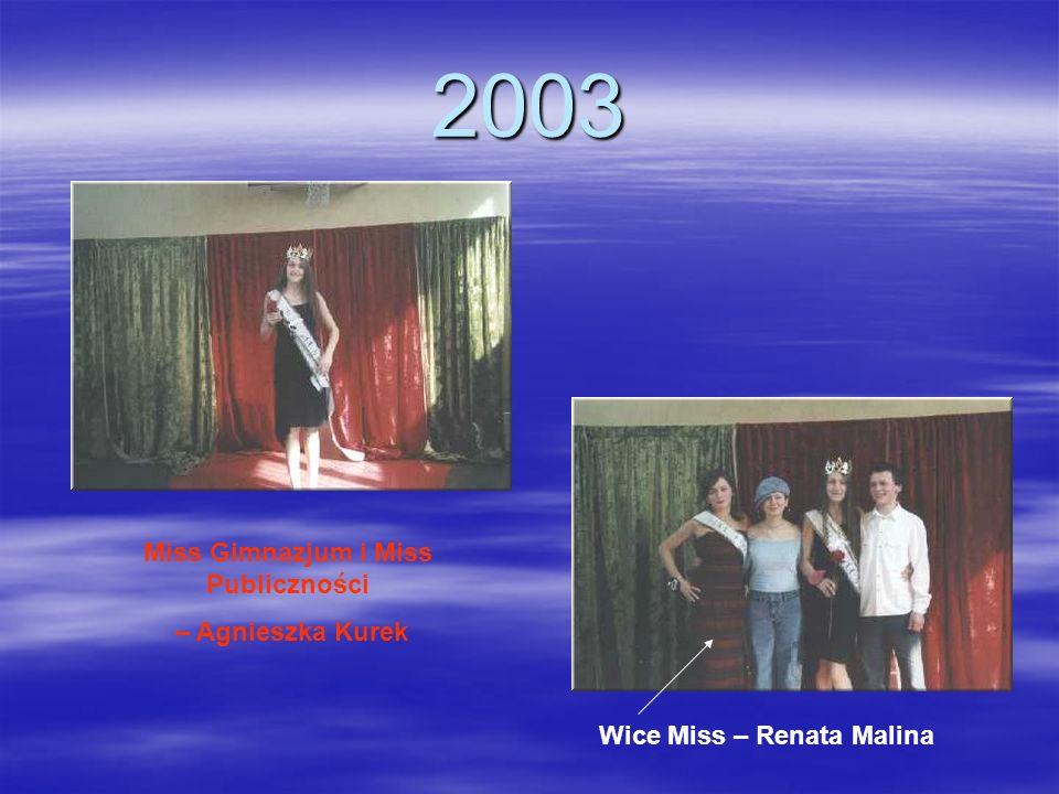 Miss Gimnazjum i Miss Publiczności