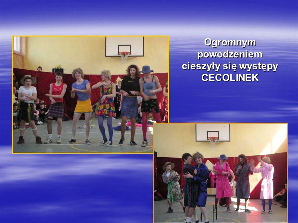 Ogromnym powodzeniem cieszyły się występy CECOLINEK