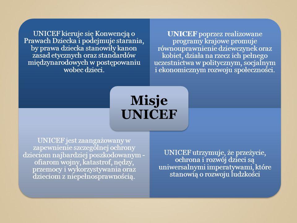 Misje UNICEF