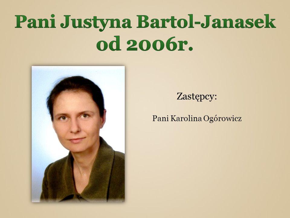 Pani Justyna Bartol-Janasek od 2006r.