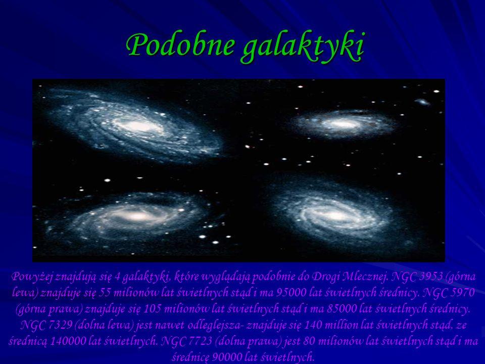 Podobne galaktyki