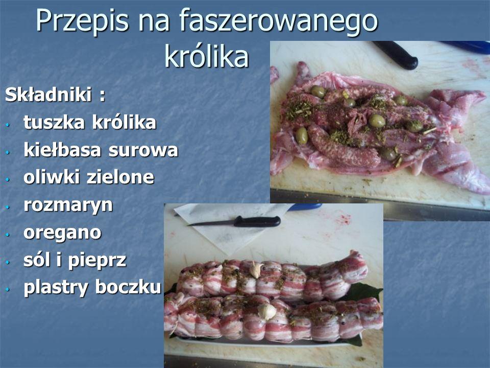 Przepis na faszerowanego królika