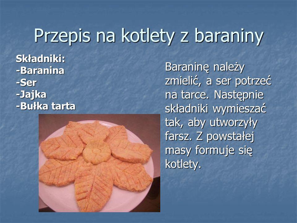 Przepis na kotlety z baraniny