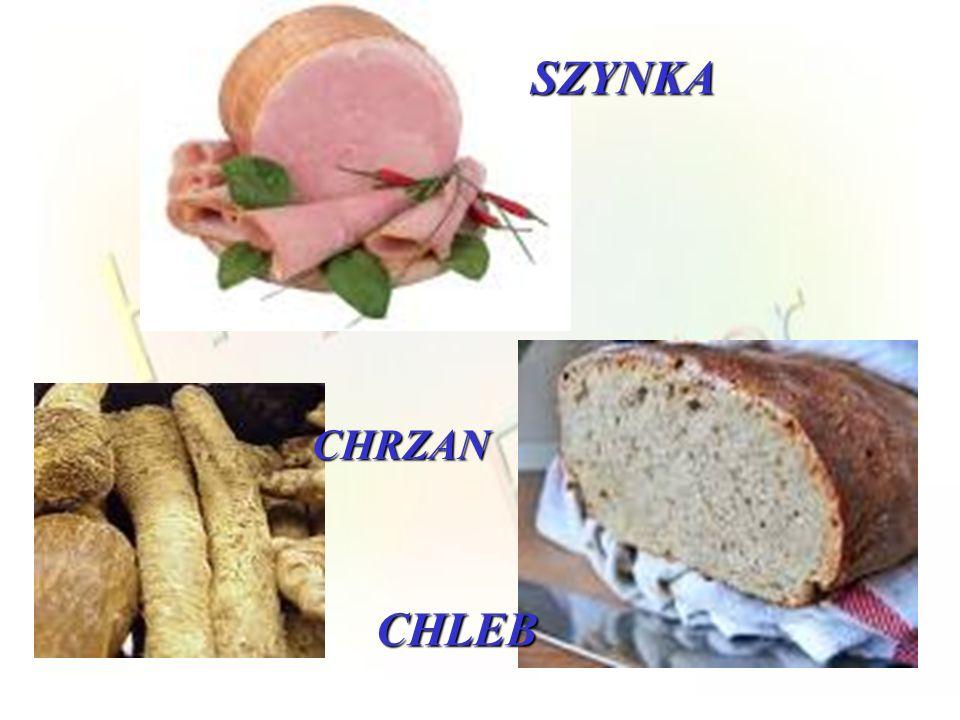 SZYNKA CHRZAN CHLEB