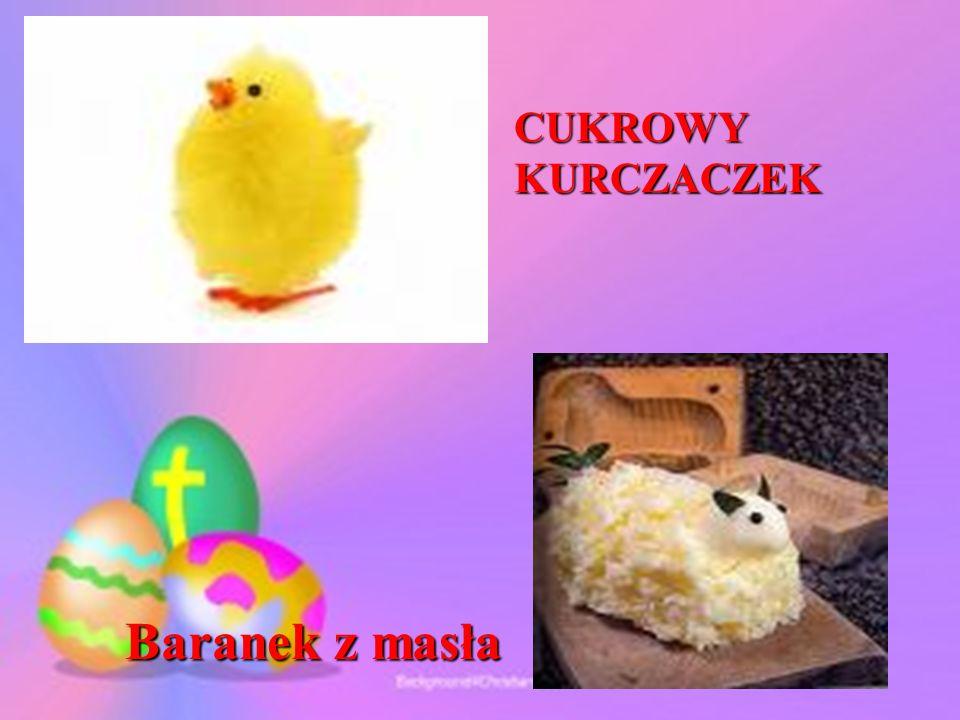 CUKROWY KURCZACZEK Baranek z masła