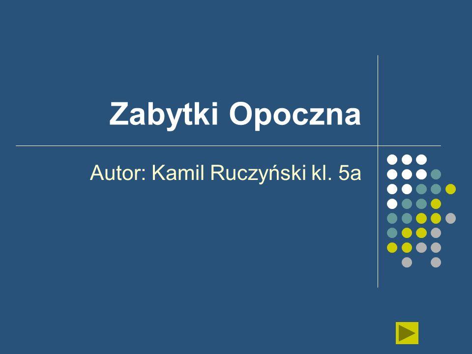 Autor: Kamil Ruczyński kl. 5a