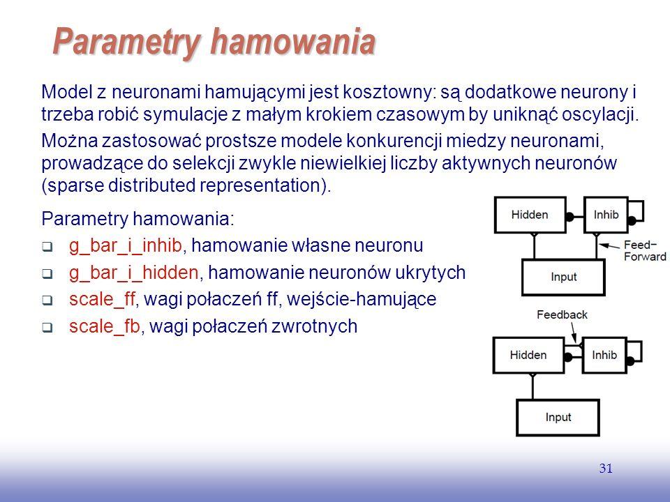 EE141 Parametry hamowania.