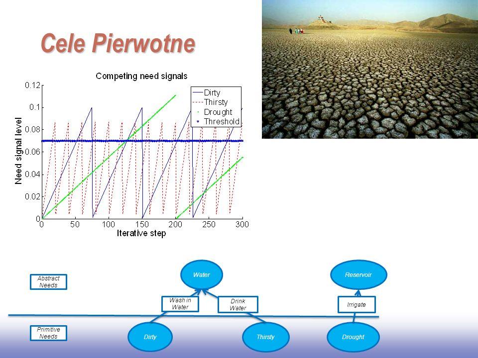 Cele Pierwotne Water Reservoir Abstract Needs Wash in Water