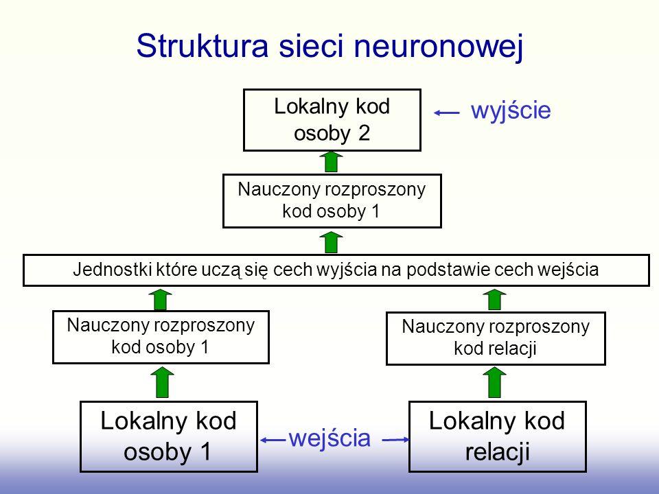 Struktura sieci neuronowej