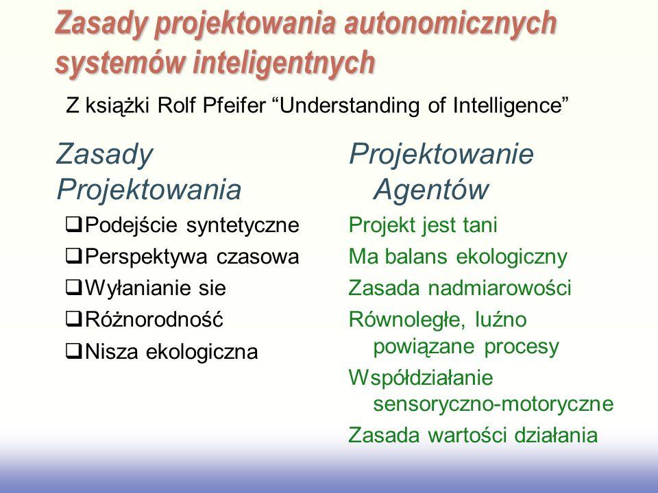 Zasady projektowania autonomicznych systemów inteligentnych