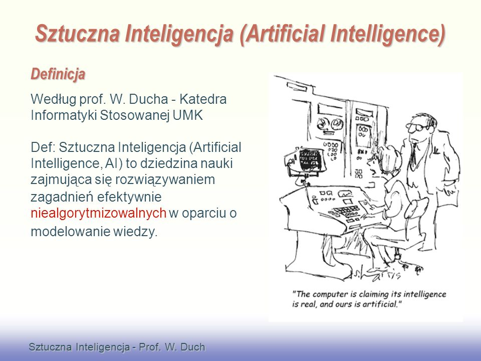 Sztuczna Inteligencja (Artificial Intelligence)
