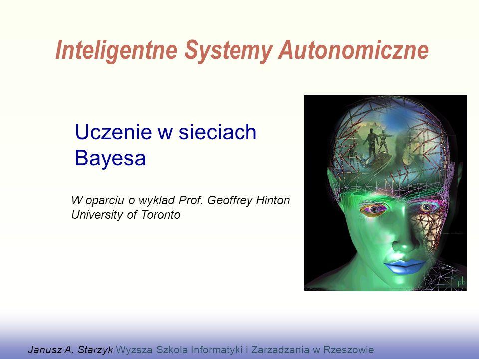 Uczenie w sieciach Bayesa
