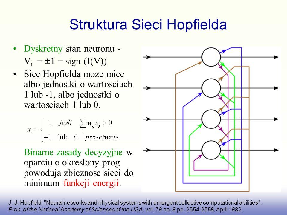 Struktura Sieci Hopfielda