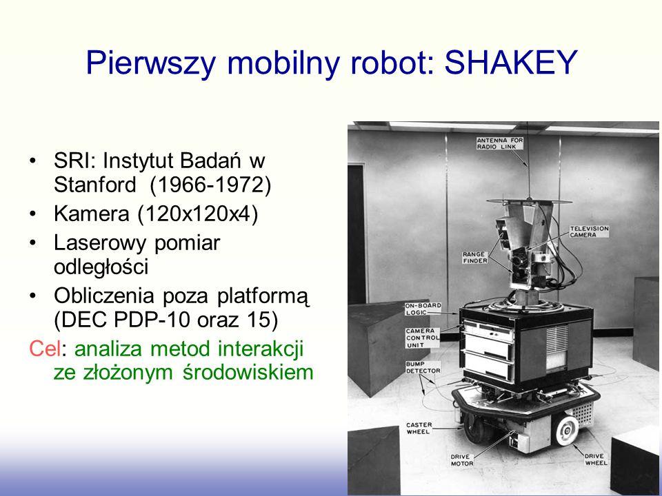 Pierwszy mobilny robot: SHAKEY
