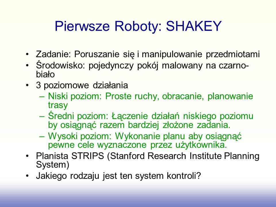 Pierwsze Roboty: SHAKEY