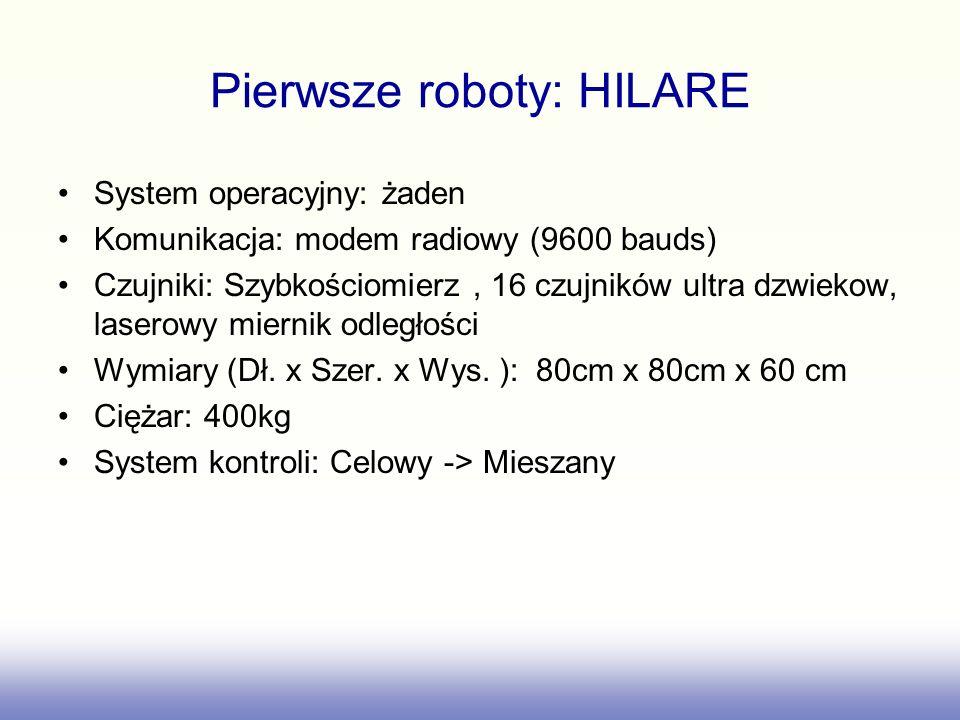 Pierwsze roboty: HILARE