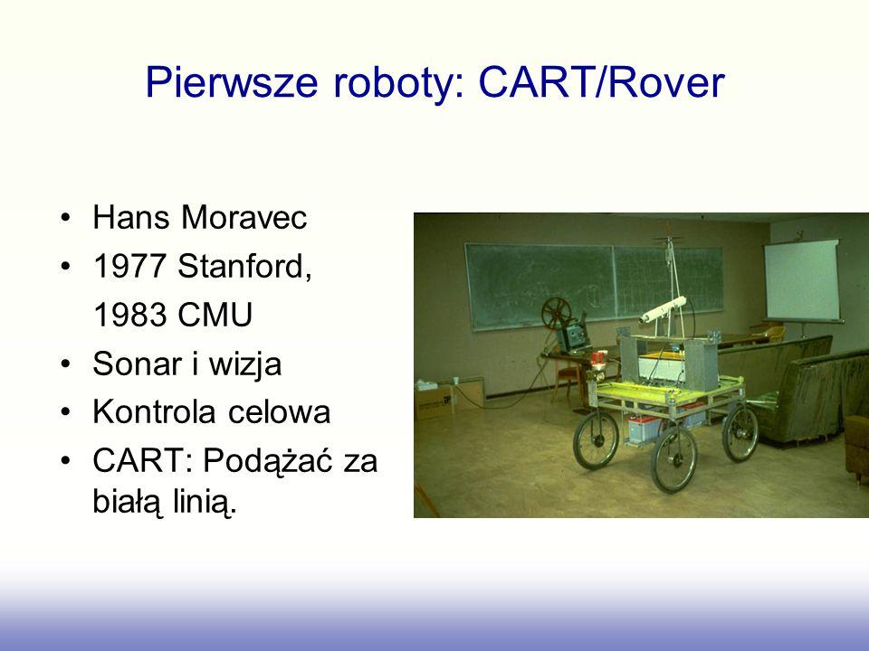 Pierwsze roboty: CART/Rover