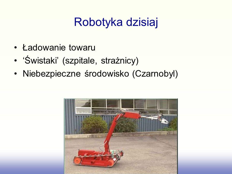 Robotyka dzisiaj Ładowanie towaru 'Świstaki' (szpitale, strażnicy)