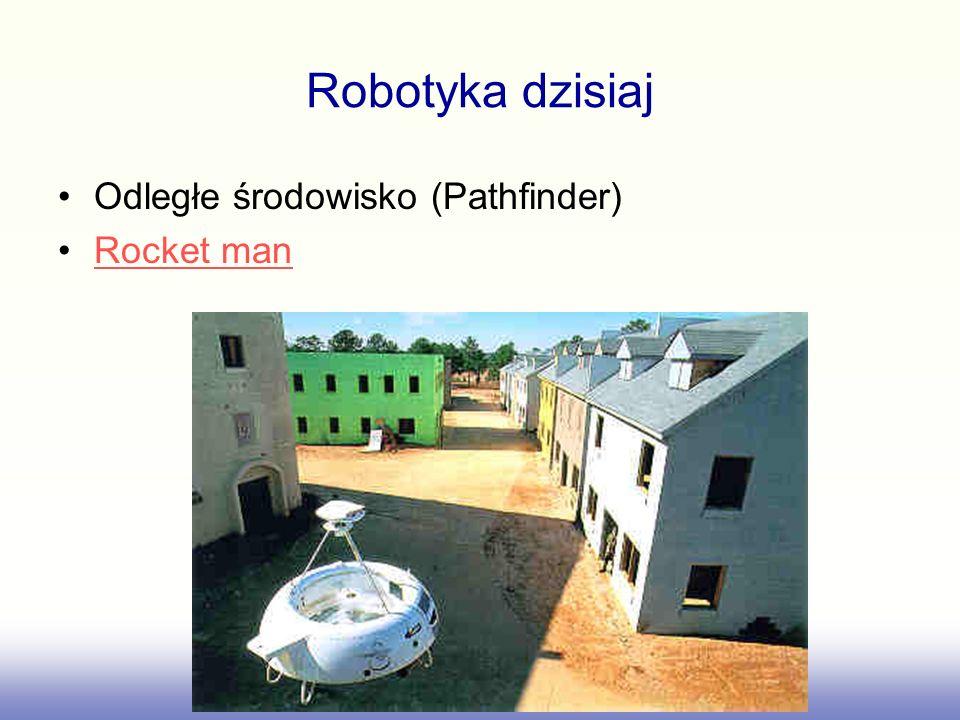 Robotyka dzisiaj Odległe środowisko (Pathfinder) Rocket man