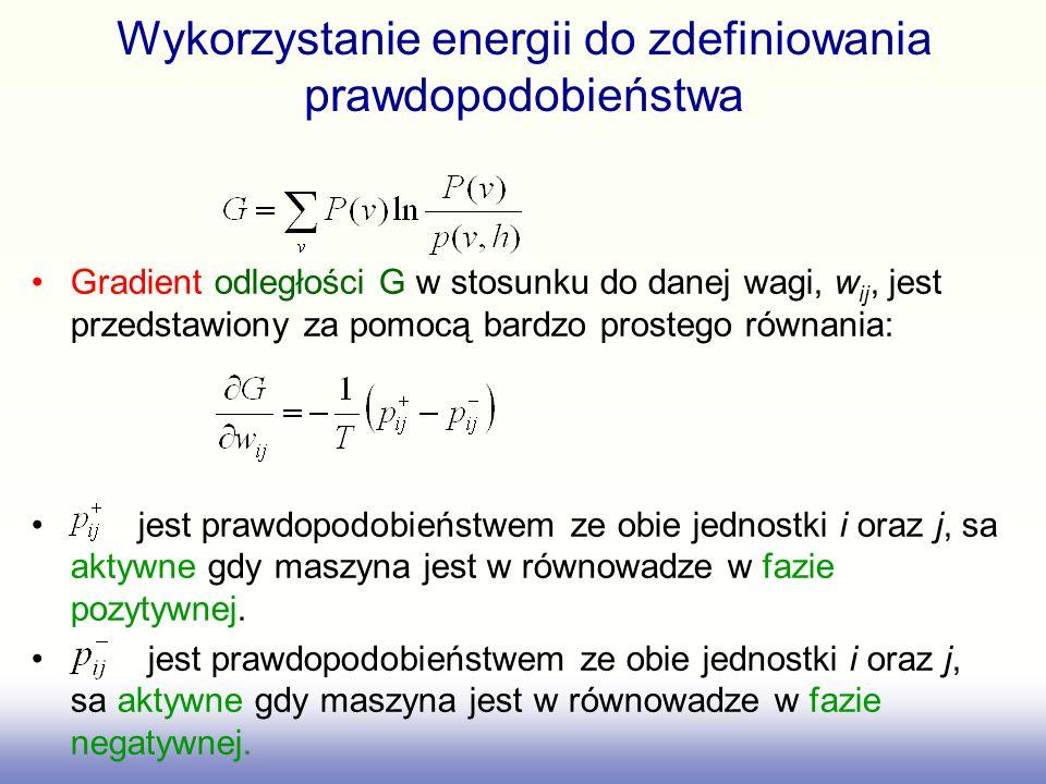Wykorzystanie energii do zdefiniowania prawdopodobieństwa