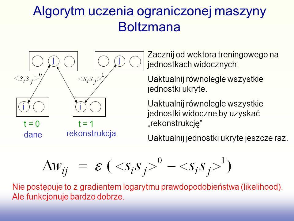 Algorytm uczenia ograniczonej maszyny Boltzmana