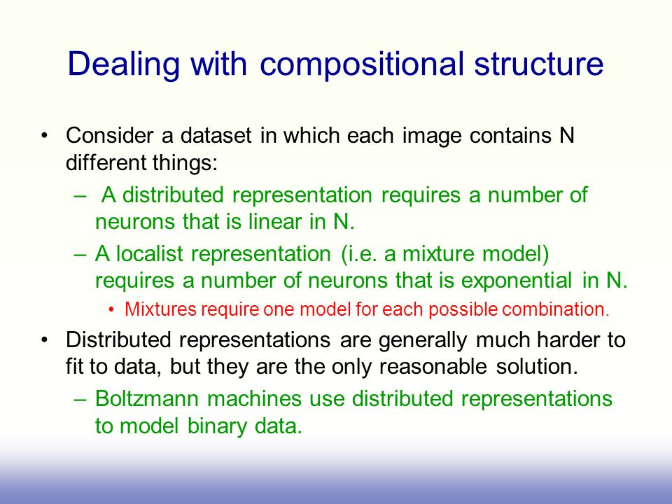 Dealing with compositional structure